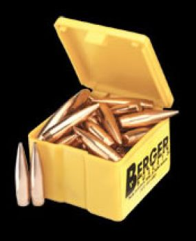 BERGER Quantity Packs 6mm 90 Grain Match BT Target